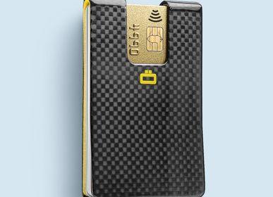Leather goods - 3C CARBON CARD CLIP - Carbon fiber - ÖGON DESIGN