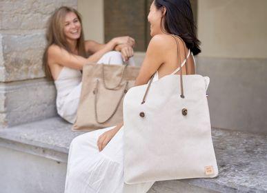 Bags and totes - LENA CANVAS BAG - AMWA AND CO