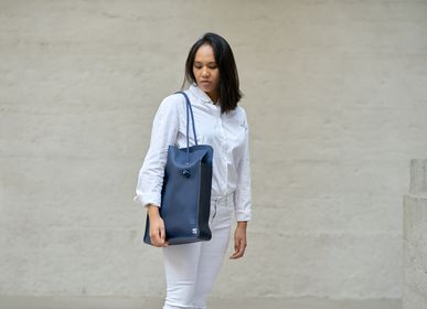Bags and totes - ZELIUS LEATHER BAG - Made In France - AMWA AND CO