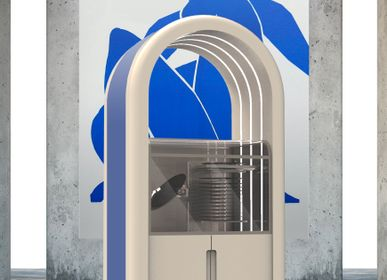 Speakers and radios - Jukebox Orphéau | Série Arche | Gris Blanc - JUKEBOX ORPHÉAU
