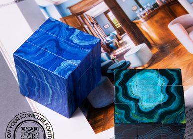 Objets de décoration - ICONICUBE DESIGN COLLECTION AGATHE - ICONICUBE BY AROUNDTHECUBE