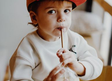 Accessoires enfants - Casquette Daim Mustard - HELLO HOSSY®