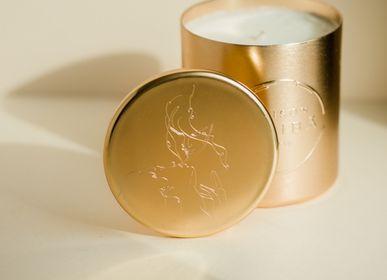 Objets personnalisables - Bougie personnalisation Parfumée personnalisé avec logo - MAISON SHIIBA