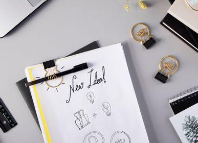 Objets design - Clipbulb - Trombone porte-crayon - PA DESIGN