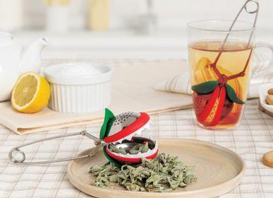 Design objects - Tea trap and 2 original tea balls: Tea Sub - Tea tulip - PA DESIGN