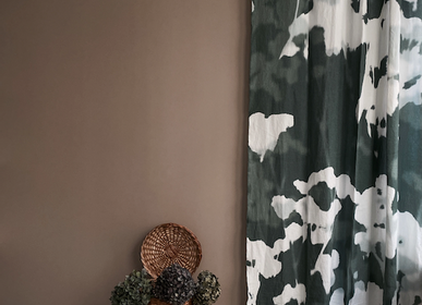 Curtains and window coverings - Curtain Om - LE MONDE SAUVAGE BEATRICE LAVAL