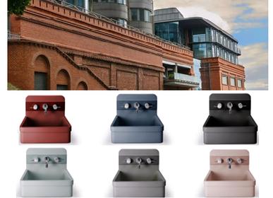 Lavabos - Collection vasque béton allégé Nood.Co - Modèle Herbert - SOPHA INDUSTRIES SAS