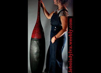 Vases - Vase Salmanazar en 2 parties - LE BOIS D'YLVA CREATION CRAKŬ