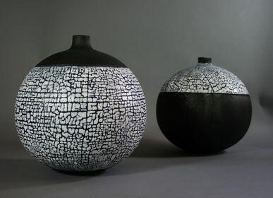 Vases - Vase Boule - LE BOIS D'YLVA CREATION CRAKŬ