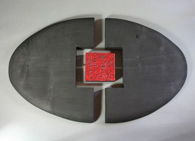 Other wall decoration - Decorative Object Ball  - LE BOIS D'YLVA CREATION CRAKŬ