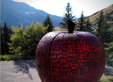Objets de décoration - Pomme Glossy - LE BOIS D'YLVA CREATION CRAKŬ