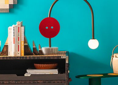 """Design objects - """"Button Collection"""" Desk Lamp - VENZON LIGHTING & OBJECTS"""