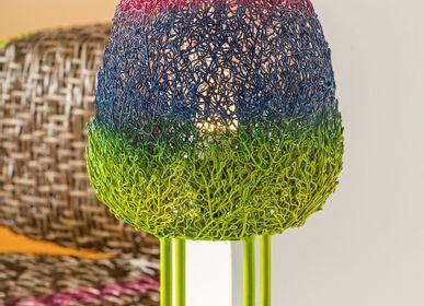 Desk lamps - PRADO FILIPINO ARTISANS Cocoon Lamp - KINDRED DESIGN COLLECTIVE HOME