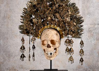 Sculptures, statuettes and miniatures - Memento Mori from Borneo - UPAGURU