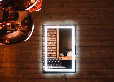 Miroirs - ALEXA- led miroir rectangulaire classique - O'VIRRO