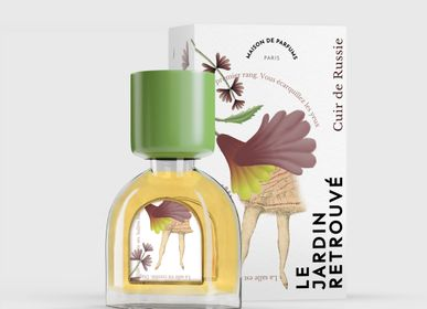 Fragrance for women & men - Cuir de Russie Petit Flacon 15ml - LE JARDIN RETROUVÉ