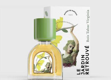 Fragrance for women & men - Bois Tabac Virginia Petit Flacon 15ml - LE JARDIN RETROUVÉ