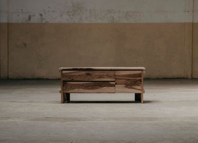 Chests of drawers - ELATE LOW CABINET - WTEDY DREWNO
