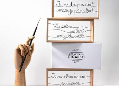 Sculptures, statuettes and miniatures - Les mots de Picasso - VALENTINE HERRENSCHMIDT