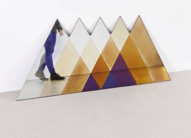 Miroirs - Triangle Transience mirror - TRANSNATURAL