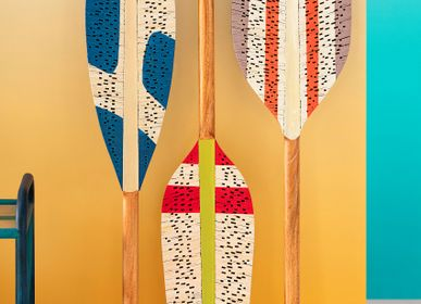 Other wall decoration - CONTEMPORANEO Decorative Paddles  - KINDRED DESIGN COLLECTIVE HOME