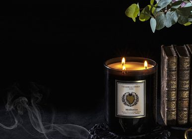 Decorative objects - Scented candle wax 100% vegetable -MEDITATION - UN SOIR A L'OPERA