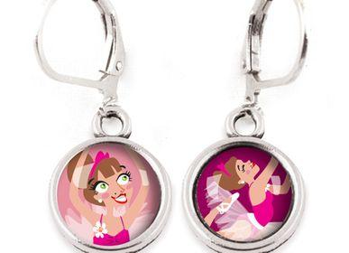 Jewelry - Earrings Les Minis Danseuse / Ballerine - LES MINIS D'EMILIE FIALA