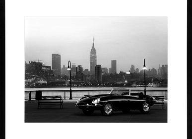 Photos d'art - Décoration murale. Jaguar E in NYC - ABLO BLOMMAERT