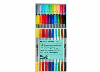 Children's arts and crafts - artist set of 20 wash-out pens  - EATSLEEPDOODLE
