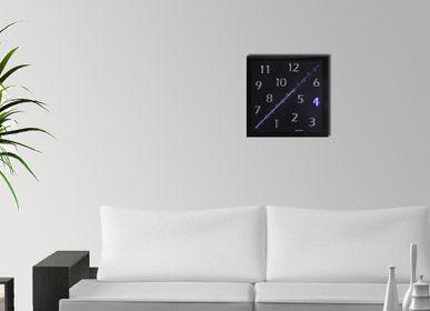 Clocks - DIAGONAL K BLUE - DIAGONAL BY ALAINPERS