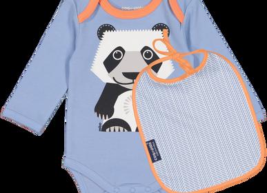 Childcare  accessories - Set Body + Bib Panda - COQ EN PATE