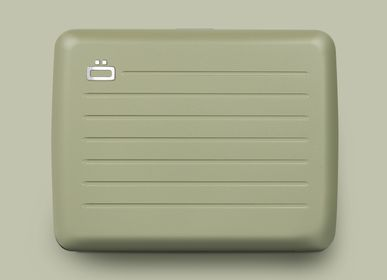 Leather goods - SMART CASE V2 LARGE - Aluminium wallet - ÖGON DESIGN