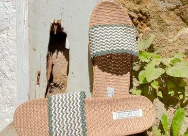 Shoes - Les Mauricettes de Rosette, khaki women's tap - LES MAURICETTES