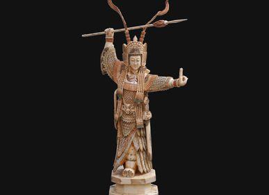Sculptures, statuettes and miniatures - Mulan Bone - TRESORIENT