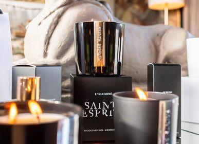 Bougies - L'ÉPICURIEN - Bougie parfumée 180g - SAINTS ESPRITS