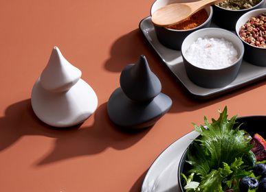 Platter and bowls - Pine Tree Salt & Pepper Shaker  - ESMA DEREBOY HANDMADE PORCELAIN