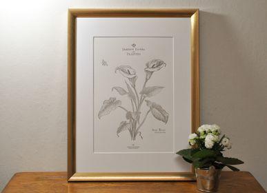 Affiches - Tirage d'Art Arum Blanc - L'ATELIER LETTERPRESS