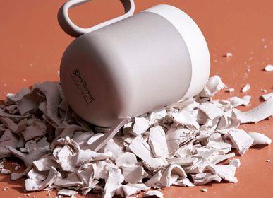 Mugs - Capsule Mug Double Colour - ESMA DEREBOY HANDMADE PORCELAIN