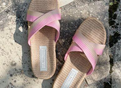 Shoes - Les Mauricettes de Rosalita, claquettes femme roses - LES MAURICETTES