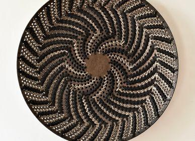 Ceramic - Soleil noir 3 - SILVER.SENTIMENTI.CERAMIQUE