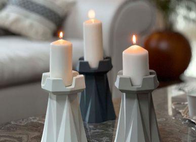 Decorative objects - Rook Candle Holder  - ESMA DEREBOY HANDMADE PORCELAIN
