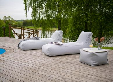 Loungechairs for hospitalities & contracts - Bean bag Sunbed Riviera - PUSKUPUSKU