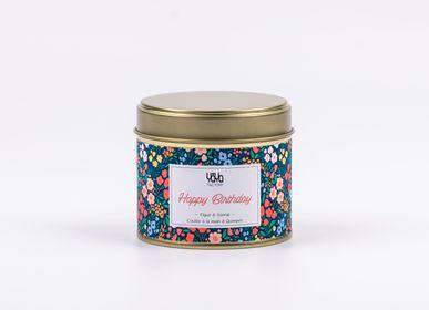 Gifts - 100% Vegan Scented Candle - Fig & Sandalwood - YAYA FACTORY