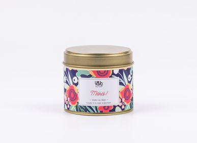 Gifts - 100% Vegan Scented Candle - Frangipani - Jasmine - YAYA FACTORY