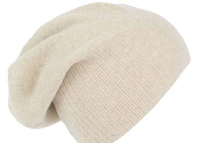Chapeaux - Bonnet tombant en cachemire  - SHEEP BY THE SEA