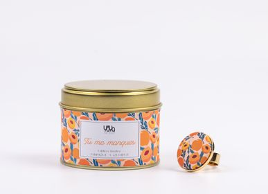 Gifts - 100% Vegan Scented Candle - Clementine and Monoi - YAYA FACTORY