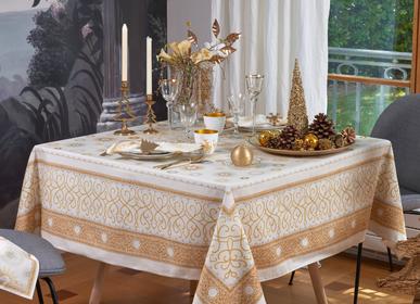 Table linen - Symphonie Gold Tablecloth - BEAUVILLÉ