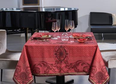 Table linen - Chambord Ruby Tablecloth - BEAUVILLÉ