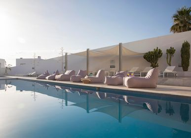 Loungechairs for hospitalities & contracts - Bean bag Lounge Riviera - PUSKUPUSKU