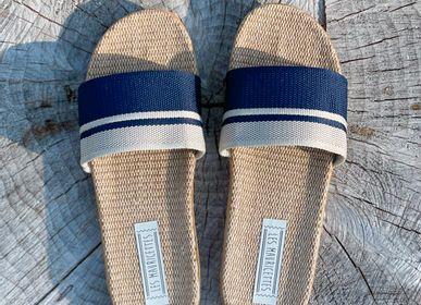 Shoes - Les Mauricettes de Firmin, navy men's tap - LES MAURICETTES